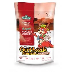 Mini čokoladni piškoti v obliki živali - multipack 8