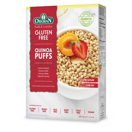 Kosmiči Kvinojini napihnjenci
