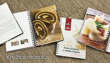 Knjižica receptov